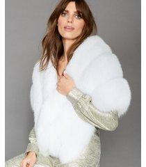 the fur vault fox-fur cape