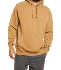 lira clothing vintage wash unisex sweatshirt, size x-small - brown