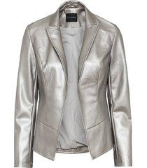 giacca in similpelle (argento) - bodyflirt