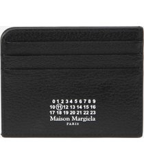 maison margiela card holder with printed logo