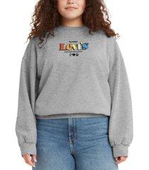levi's graphic prism crewneck sweatshirt