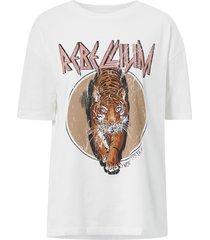 topp vmforever oversized print t-shirt exp