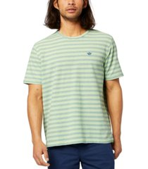 dockers men's pique striped t-shirt
