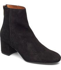 mei shoes boots ankle boots ankle boots with heel svart atp atelier