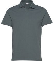 m. lycra polo t-shirt polos short-sleeved svart filippa k