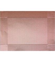 jogo americano textilene 45x30cm colore rose
