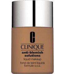 anti-blemish solutions liquid makeup clinique - base liquida fresh honey