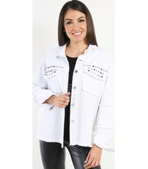 chaqueta denim erika blanco night concept