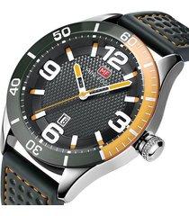reloj análogo mf0155g-2 hombre gris
