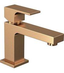 misturador monocomando para banheiro mesa unic gold matte 2875.gl90.mt - deca - deca