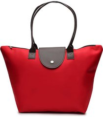 bolso rojo color rojo, talla uni