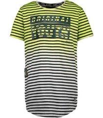 cars geel geprint t-shirt pula