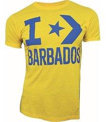 camiseta converse amarilla para hombre