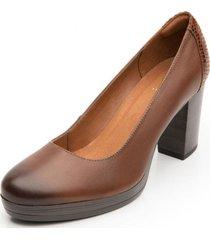 zapato mujer bonnie café flexi