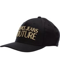 versace jeans couture logo baseball cap