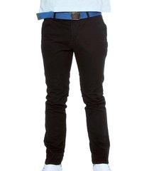 pantalón drill negro manpotsherd ref:1132