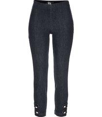 7/8-jeans med pärlor