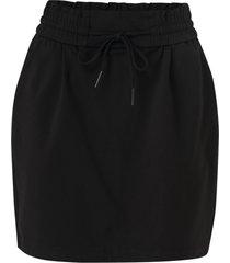 kjol vmeva mr short ruffle skirt