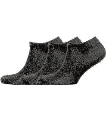 men's knit in-shoe s sockor strumpor svart emporio armani