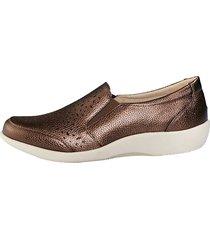 skor julietta bronsfärgad