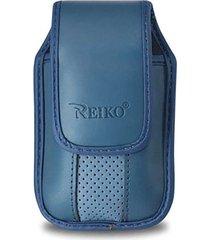 reiko vertical pouch vp11a blackberry 8330 blue 4.3x2.4x0.6 inches