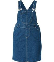 jeanskjol vmebbe pinafore dress