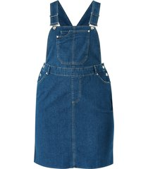 jeanskjol vmebbe pinafore dress