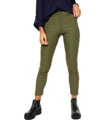 pantalón verde odas legging