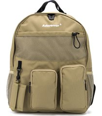 ader error cartridge multi-pocket backpack - neutrals