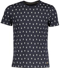 new in town t-shirt - slim fit - blauw