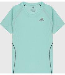 camiseta fucsia adidas performance runner
