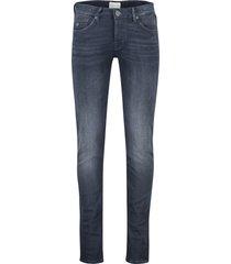 jeans cast iron riser slim donkerblauw