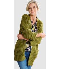 vest dress in groen