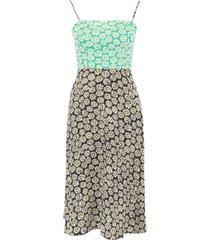 hvn daisy print nora dress