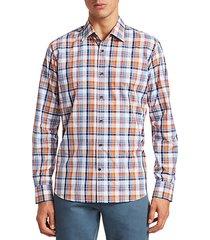 collection cotton plaid shirt