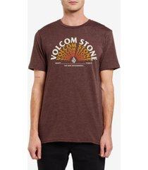 volcom men's eminate logo graphic t-shirt
