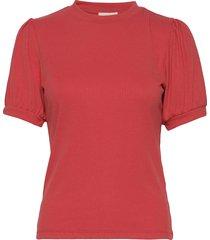 johanna tee t-shirts & tops short-sleeved röd minus