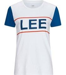 t-shirt colorblock tee