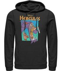 disney men's hercules hydra slayer, pullover hoodie
