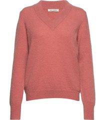 blouse stickad tröja rosa sofie schnoor