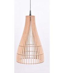 lampy drewniane sufitowa z drewna abażur plafon
