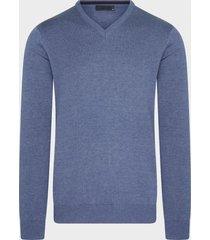 michaelis denim pullover | v-hals | katoen | shirtdeal