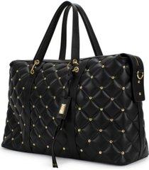 quilted travel tote weekender bag