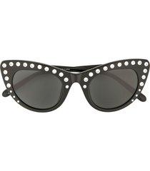 nº21 crystal-embellished cat eye sunglasses - c1sun