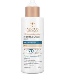 protetor solar fluid shield protection fps 70 colors beige - 50ml