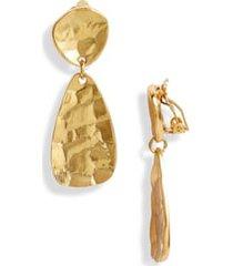 karine sultan drop earrings in gold at nordstrom