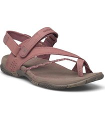 siena burlwood shoes summer shoes flat sandals rosa merrell