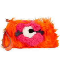 creeper one-eyed dyed sherling clutch
