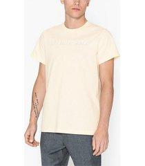 helmut lang standard tee t-shirts & linnen pearl