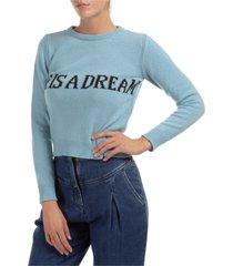 maglione maglia donna girocollo life is a dream capsule collection